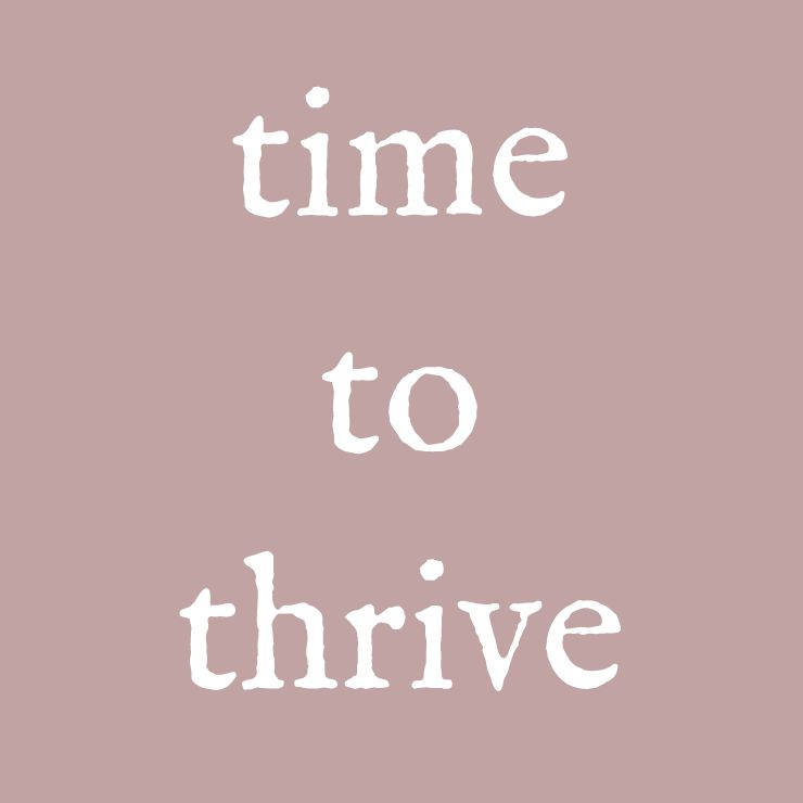 Time To Thrive Stephanie Daniels Nutrition